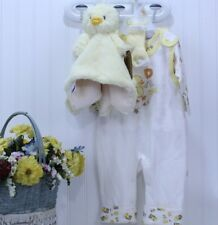 Newborn Boy/Girl by Duck Duck Goose Gift Set & Duck Blankie/Rattle NWT J-62