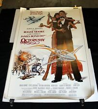 "HS Octopussy Original Movie Poster 1983 James Bond 007 40"" x 60"" NM"