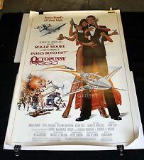 "HS Octopussy Original Movie Poster 1983 James Bond 007 40"" x 60"" NM"