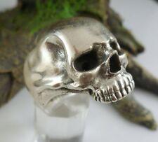 Anillo grave calavera Alien Skull Gothic 925 plata ungetragen talla 57