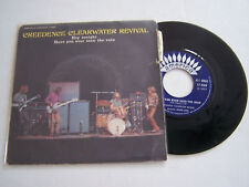 SP 2 TITRES VINYL 45 T , CREEDENCE CLEARWATER REVIVAL , HEY TONIGHT .