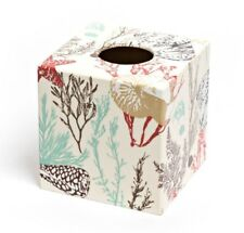Natural Coral Tissue Box Cover wooden handmade