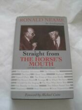 Signed! Ronald Neame Straight From Horse's Mouth Hcdj Scarecrow Poseidon Meteor