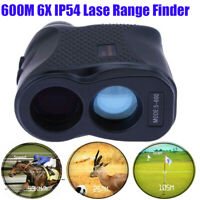 Waterproof 600M Telescope Laser Range Finder Distance Height Speed Meter IP54