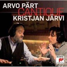 1-CD ARVO PART - CANTIQUE - KRISTJAN JARVI (CONDITION: NEW)