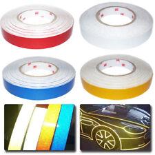 Diy Car Truck Body Reflective Stripe Sticker Tape Self Adhesive Decal 2cm Width Fits Srt