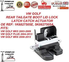 VW GOLF MK5 MK6 PLUS REAR TAILGATE BOOT LID LOCK LATCH CATCH ACTUATOR  BRAND NEW