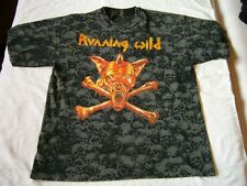 RUNNING WILD – very rare old original early 90s Allover T-Shirt!!!!! metal heavy
