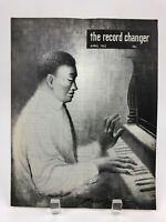 Vintage April 1953 THE RECORD CHANGER Jazz Music Magazine, Robert Lee Cover