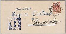 Brescia --- ITALIA REGNO:  storia postale - BUSTA / LETTERA : Vobarno 1908