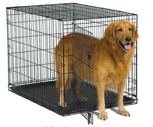 BRAND NEW large dog crate kennel for dogs up to 110 lbs42x28x30