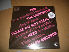 THE RESIDENTS PLEASE DO NOT STEAL LP VINYL #001209 RSD NEW RECORD STORE DAY 2016