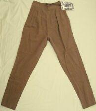 ST LENNY'S Tencel PANTS Pantaloon harem waist Slim cuff 28W  NEW! ~ Women sz 6