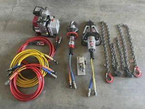 Lukas Hydraulik Rettungssatz LS120EN Spreizer LSP40B Rettungsschere Hydraulik