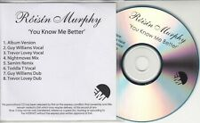 ROISIN MURPHY You Know Me Better - Remixes UK 8-track promo only CD Toddla T