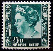 N-I NVPH 256 Wilhelmina 25 Cent prachtig ongebruikt Cataloguswaarde € 30.00