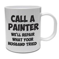 Chiama un pittore-pittore e decoratore/Tradesman/Divertente Tazza in ceramica IDEA REGALO