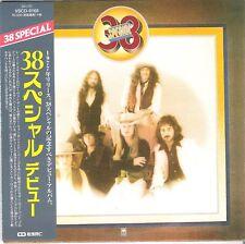 CD MINI-LP REPLICA SLEEVE 38 SPECIAL JAPAN + OBI VSCD-9168