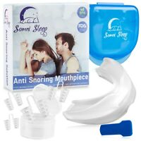Best Anti Snoring Device, Snore Stopper Mouthpiece - Snoring Solution, Sleep Aid