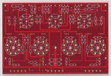 EL34 PP power stereo amplifier PCB 1 piece !