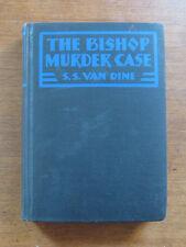 THE BISHOP MURDER CASE S.S. van Dine - 1st/1st 1929  SEAL Philo Vance story