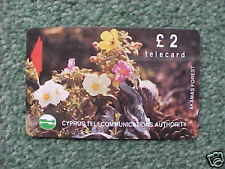 CYPRUS £2 Phonecard - Akamas Forest - Used