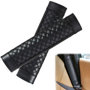 2x Car Safety Seat Belt Shoulder Pads Cover Cushion Neck Shoulder Protector