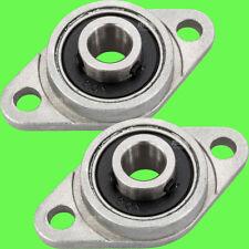 ► 2 Stk KFL08 Flanschlager Gehäuselager 8mm Welle CNC 3D Drucker KFL Halterung