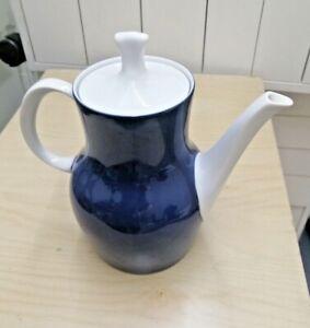 Thomas Decor 79 Finlandia Cobalt Dark Blue Coffee Pot Mid Century Modern MCM (JJ