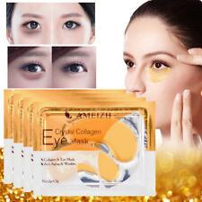 2PCs 24K Gold Collagen Eye Mask Eye Care Dark Circles Remove Anti-Aging Wrinkle