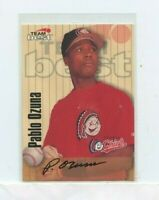 PABLO OZUNA 1998 Team Best / Best Signature Series Autographs Auto #PAOZ