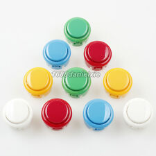 10x 30mm Push Buttons For Arcade Machine Street Fighter 4 KOF Mame Jamma 5 Color