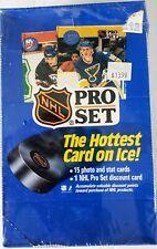 1990-91 NHL PRO SET Hockey Series 1 - 36 Pack SEALED Box - 15 card Wayne Gretzky