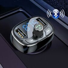 USB Car Charger Fast Mobile FM Transmitter Aux Modulator Bluetooth 4.2 Kits