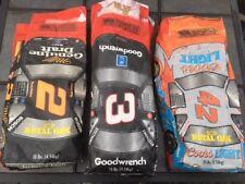 3 Royal Oak Charcoal NASCAR Bags Empty Earnhardt Wallace Petty 2 3 42 Grill