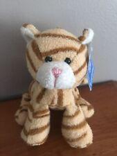 "Tri Russ Orange Kitty Cat Tabby Bean Bag Floppy Target Stuffed 5"" Mini Plush Toy"