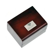 Authentic Aqua Master Diamond Watch Brown Wood Box All Papers