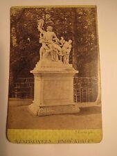 Versailles - 1869-Mort du Laocoon/Laokoon-scultura/CDV