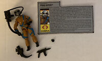1989 GI Joe V1 FRAG-VIPER ~ Cobra Grenade Thrower COMPLETE with File  Card