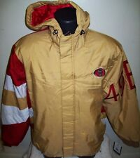 SAN FRANCISCO 49ERS 2017 Starter KNOCKOUT Hooded Winter Jacket  S M L XL