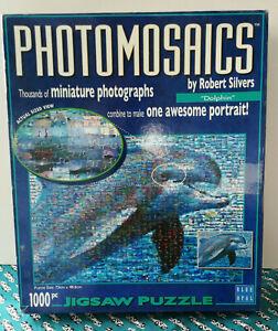 Photomosaics Jigsaw Puzzle 1000 Pieces - Dolphin