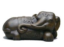 Chinese Yixing zisha pure clay tea pet Elephant Gu Tong ni tea decoration