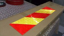 Safety Supplies Reflector With Aluminum Board Car Van Truck Red&Yellow