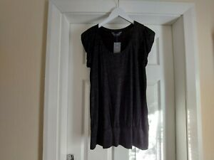 """Blouse""""Dorothy Perkins""""Tall Black in Sequins Mix Colour Size:16 (UK)Eur 44"""
