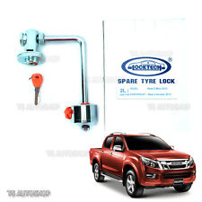 FOR ISUZU D-MAX  4X4 2012-2016 TRUCK 2L SPARE TYRE WHEEL LOCK TECH PROTECT COVER