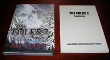 The Folks 2,  Ray Garton *Signed Limited 1st Ed + Signed Uncorrected Proof *ARC