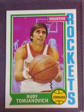 1974 Topps Rudy Tomjanovich #28 Rockets NM/MT