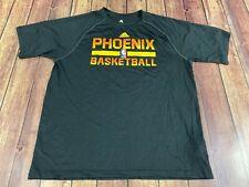 Phoenix Suns Adidas Men's Black NBA Basketball T-Shirt - Small