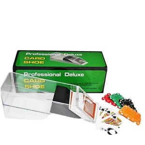 Proffesional Deluxe Poker Card Shoe Dealing Aid