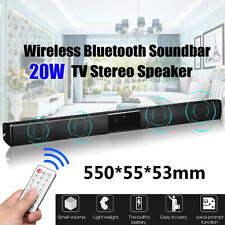 New Wireless bluetooth Soundbar TV Stereo Speaker Subwoofer Home Theater Audio